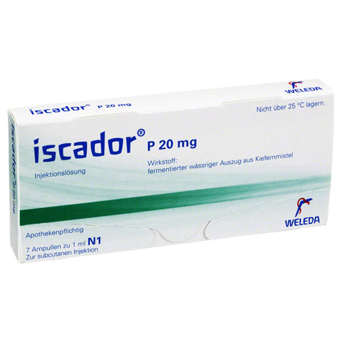 ISCADOR P 20 mg Injektionslösung 7x1 Milliliter N1