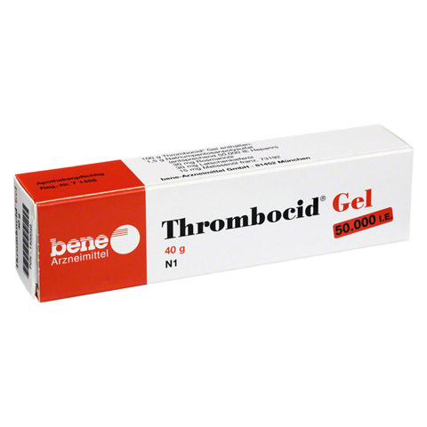 THROMBOCID Gel 40 Gramm
