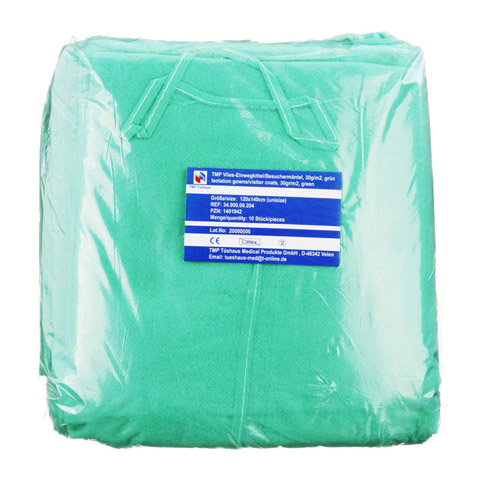 VLIESKITTEL Einweg 30 g/m2 grün 10 Stück