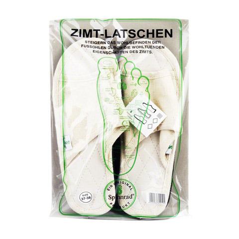 ZIMTLATSCHEN Baumwolle Gr.37/38 2 Stück