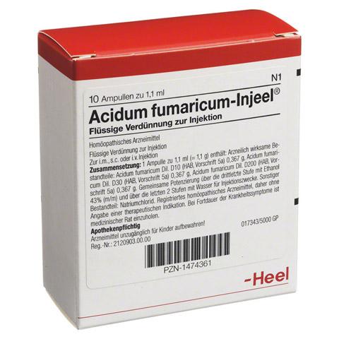 ACIDUM FUMARICUM INJEEL Ampullen 10 Stück N1