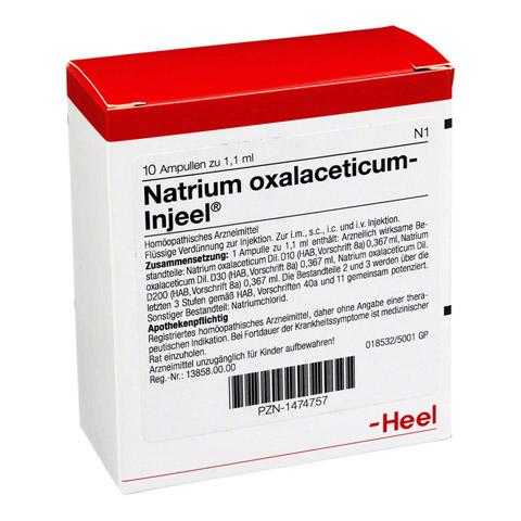 NATRIUM OXALACETICUM Injeel Ampullen 10 Stück N1