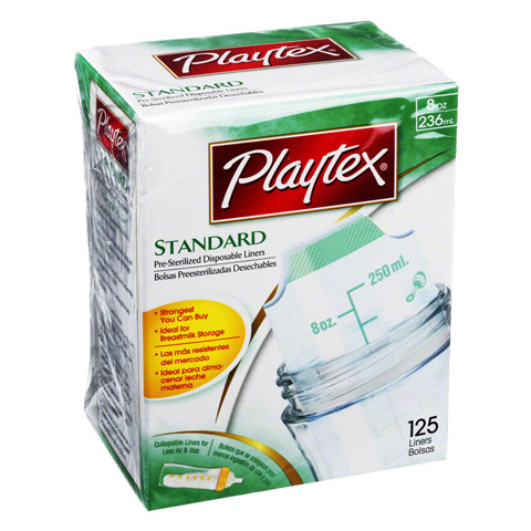PLAYTEX Einwegbeutel 802/236 ml 125 Stück