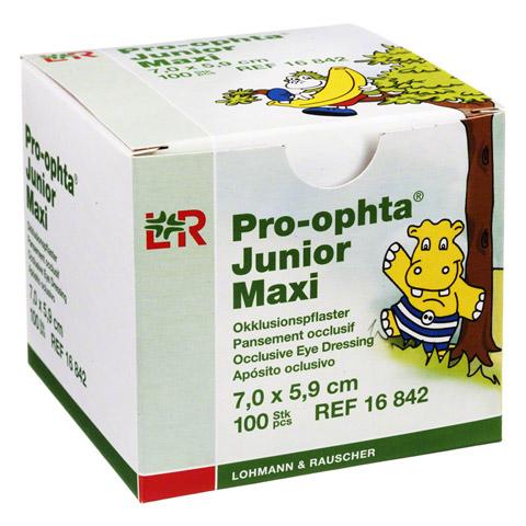 PRO-OPHTA Junior maxi Okklusionspflaster 100 Stück
