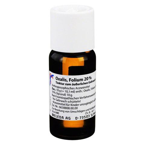 OXALIS FOLIUM 20% äußerlich Tinktur 50 Milliliter N1
