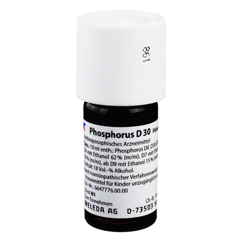 PHOSPHORUS D 30 Dilution 20 Milliliter N1