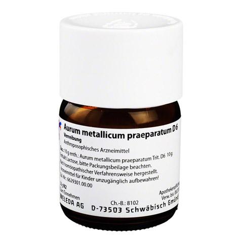 AURUM METALLICUM PRAEPARATUM D 6 Trituration 50 Gramm N2