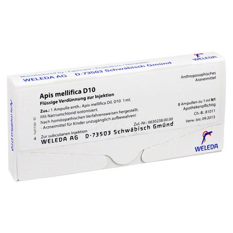 APIS MELLIFICA D 10 Ampullen 8 Stück N1