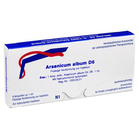 ARSENICUM ALBUM D 6 Ampullen 8 Stück N1