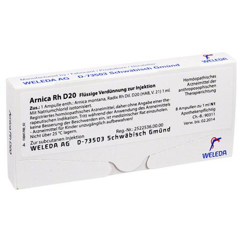 ARNICA RH D 20 Ampullen 8x1 Milliliter N1