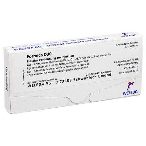 FORMICA D 30 Ampullen 8x1 Milliliter N1