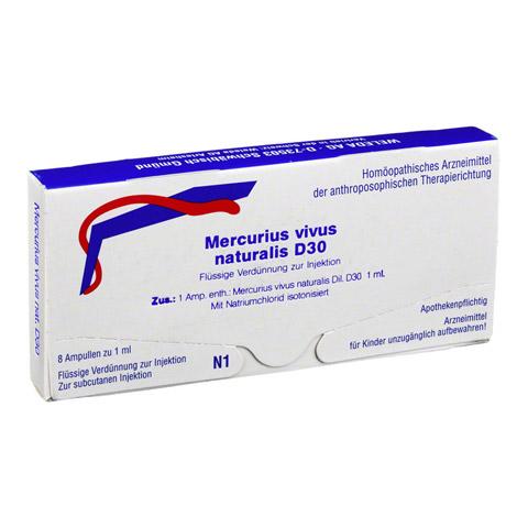 MERCURIUS VIVUS NATURALIS D 30 Ampullen 8x1 Milliliter N1