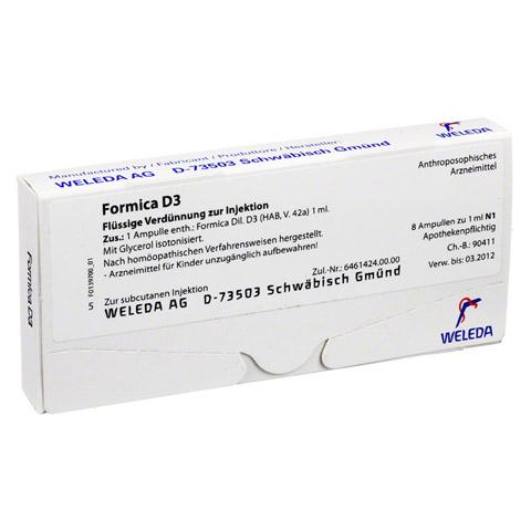 FORMICA D 3 Ampullen 8x1 Milliliter N1