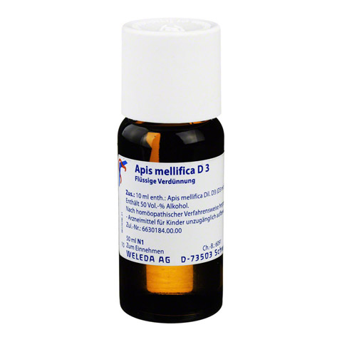 APIS MELLIFICA D 3 Dilution 50 Milliliter N1