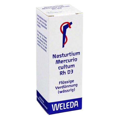 NASTURTIUM MERCURIO cultum Rh D 3 Dilution 20 Milliliter N1