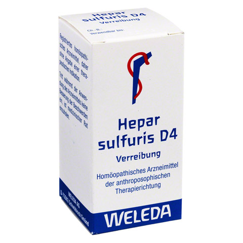 HEPAR SULFURIS D 4 Trituration 20 Gramm N1