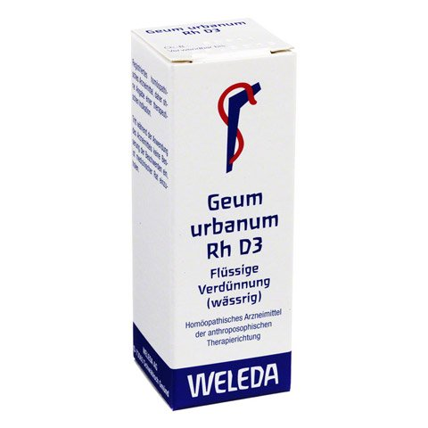 GEUM URBANUM RH D 3 Dilution 20 Milliliter N1