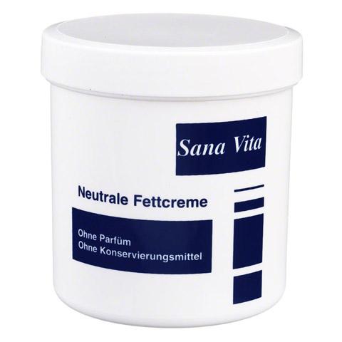 SANA VITA neutrale Fettcreme 200 Milliliter