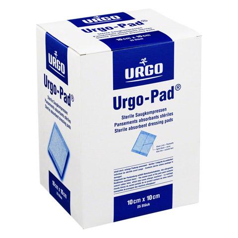 URGO-PAD Saugkompressen 10x10 cm steril 25 Stück
