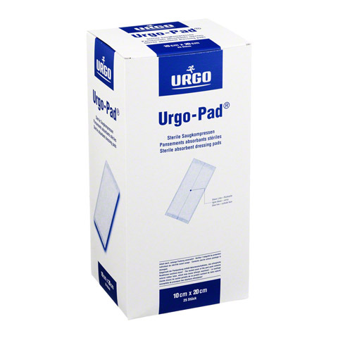 URGO-PAD Saugkompressen 10x20 cm steril 25 Stück