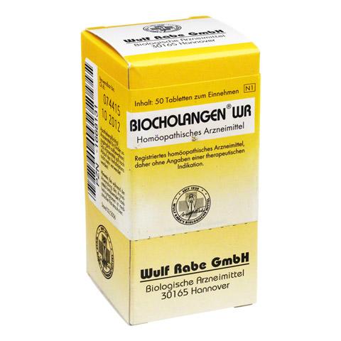BIOCHOLANGEN WR Tabletten 50 Stück N1