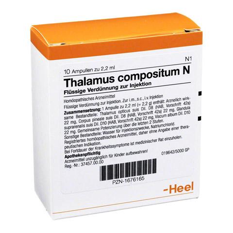 THALAMUS compositum N Ampullen 10 Stück N1