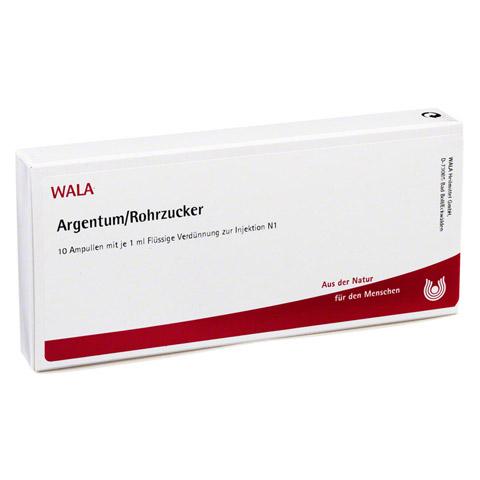 ARGENTUM/ROHRZUCKER Ampullen 10x1 Milliliter N1