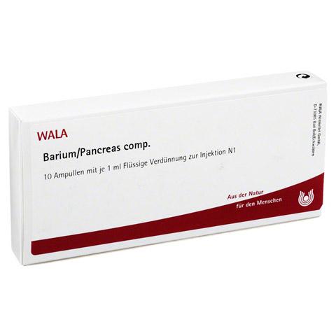 BARIUM/PANCREAS comp.Ampullen 10x1 Milliliter N1