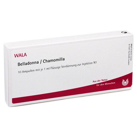 BELLADONNA CHAMOMILLA Ampullen 10x1 Milliliter N1