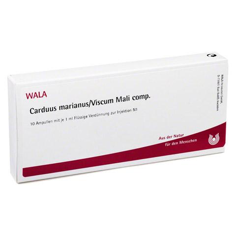 CARDUUS MARIANUS/VISCUM mali comp.Ampullen 10x1 Milliliter N1