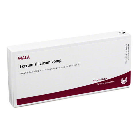FERRUM SILICICUM comp.Ampullen 10x1 Milliliter N1
