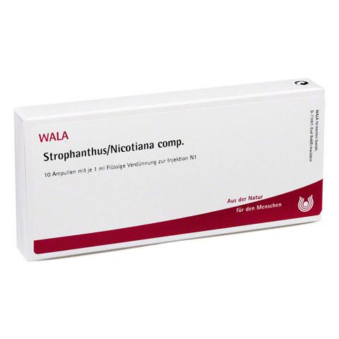 STROPHANTHUS/NICOTIANA comp.Ampullen 10x1 Milliliter N1