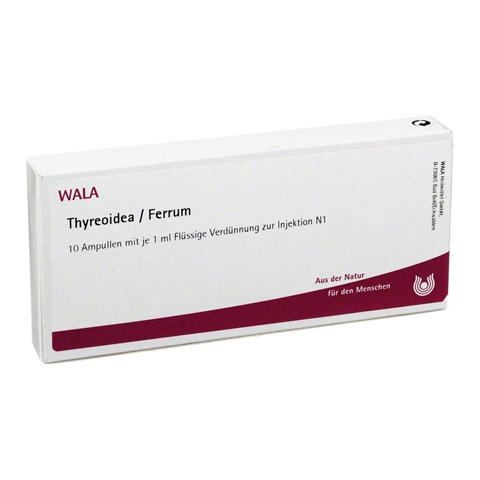 THYREOIDEA/Ferrum Ampullen 10x1 Milliliter N1