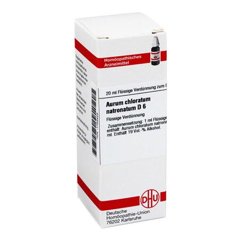 AURUM CHLORATUM NATRONATUM D 6 Dilution 20 Milliliter N1