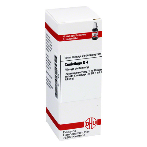 CIMICIFUGA D 4 Dilution 20 Milliliter N1