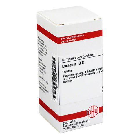LACHESIS D 8 Tabletten 80 Stück N1