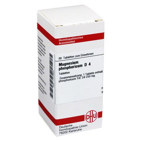 MAGNESIUM PHOSPHORICUM D 4 Tabletten 80 Stück N1