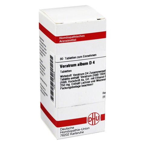 VERATRUM ALBUM D 4 Tabletten 80 Stück N1