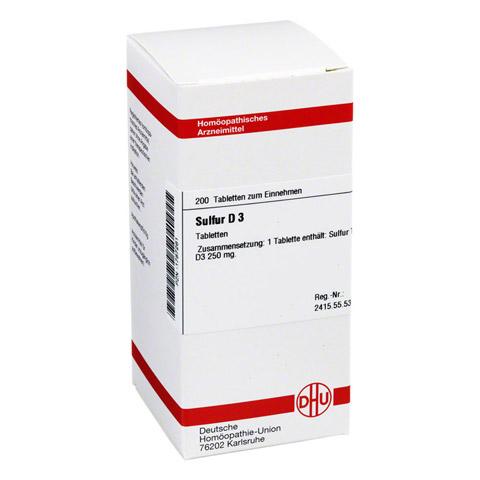 SULFUR D 3 Tabletten 200 Stück N2