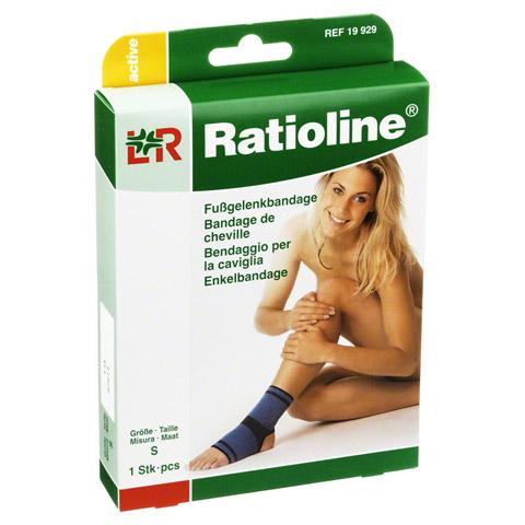 RATIOLINE active Fußgelenkbandage Gr.S 1 Stück
