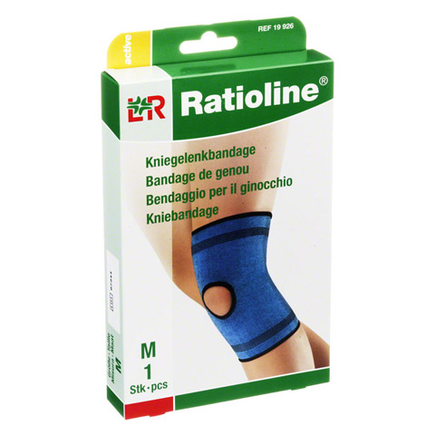 RATIOLINE active Kniegelenkbandage Gr.M 1 Stück