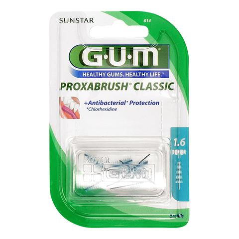 GUM Proxabrush Ersatzbürsten 0,7 mm Tanne 8 Stück