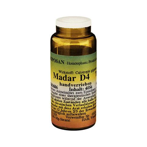 MADAR D 4 Tabletten 40 Stück N1