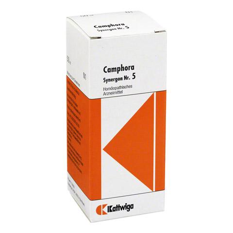 SYNERGON KOMPLEX 5 Camphora Tropfen 50 Milliliter N1