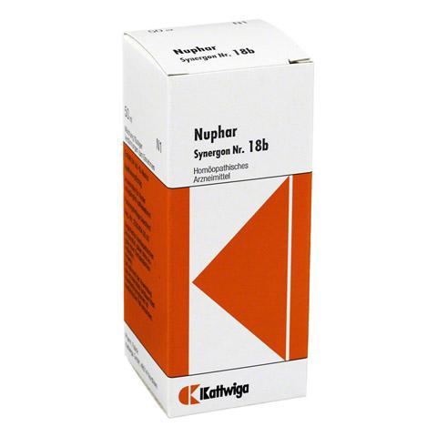 SYNERGON KOMPLEX 18 b Nuphar Tropfen 50 Milliliter