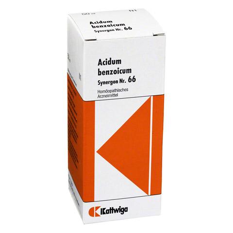 SYNERGON KOMPLEX 66 Acidum benzoicum Tropfen 50 Milliliter N1