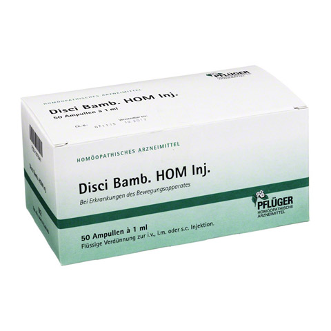 DISCI Bamb HOM 1 ml Injektionslösung 50 Stück N2