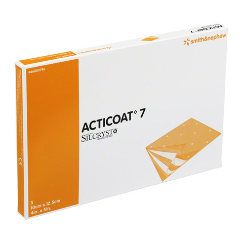 ACTICOAT 7 10x12,5 cm antimikrob.Wundaufl.7-Tage 5 Stück