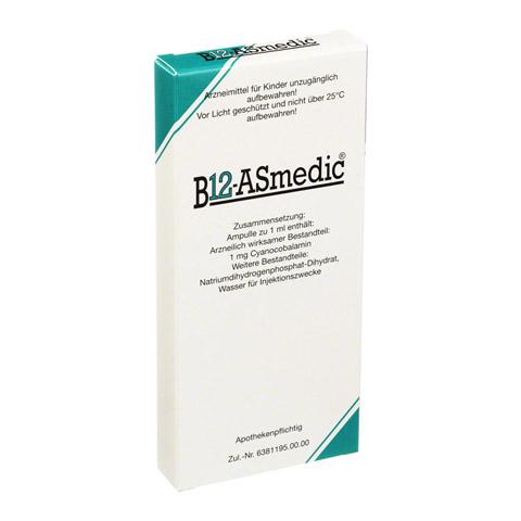 B12 Asmedic Ampullen 10x1 Milliliter N2