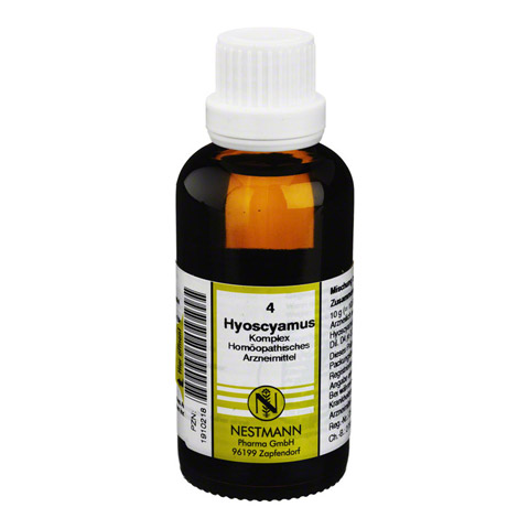HYOSCYAMUS KOMPLEX Nr.4 Dilution 50 Milliliter N1